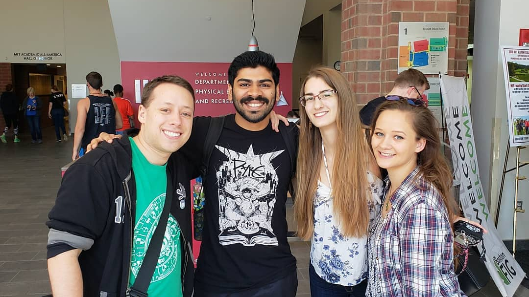 Danny, Varun, Ashley, and Anna